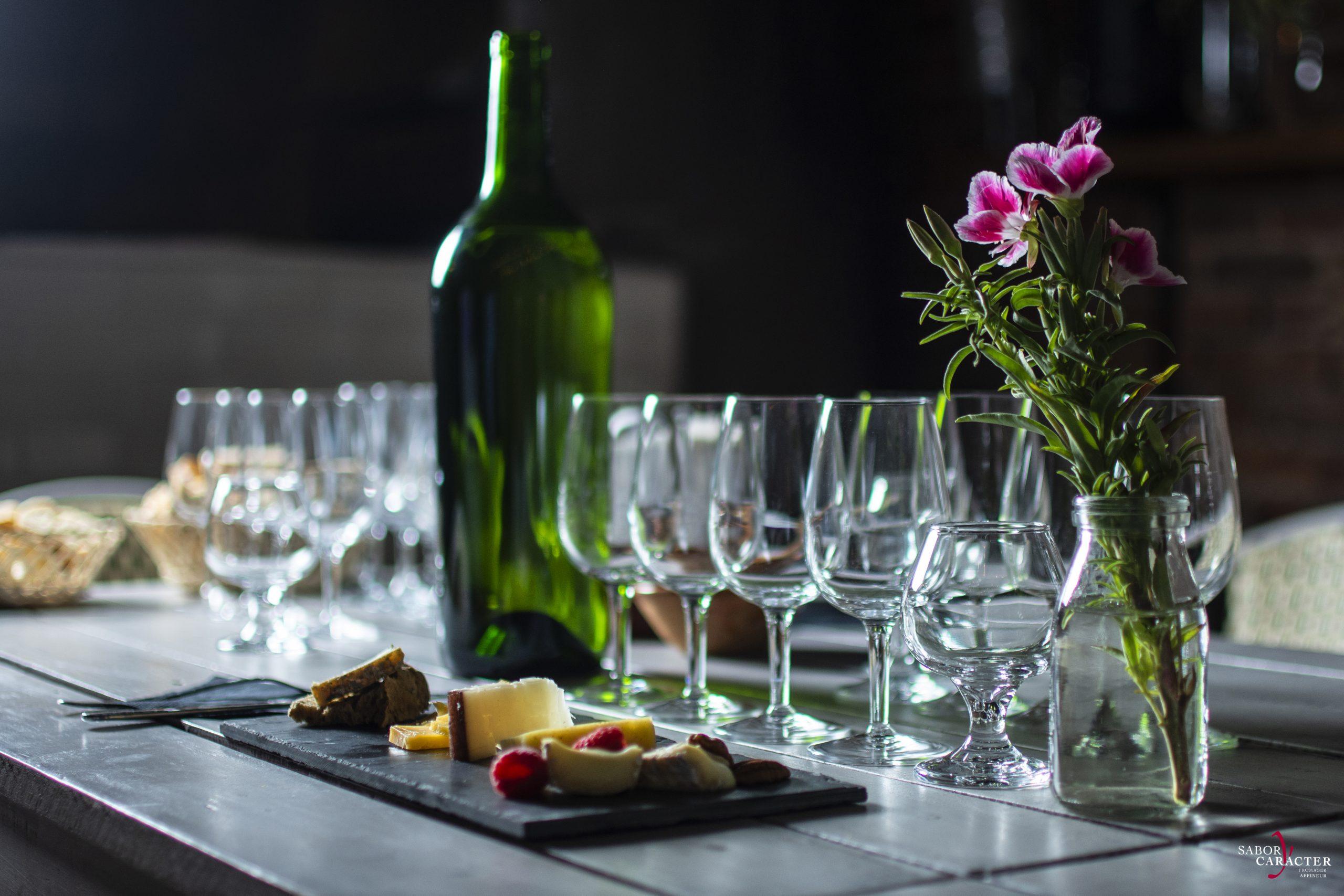 sabor-y-caracter-queso-gastronomia-gourmet-cheese-club-presentación-queso- cena-maridaje